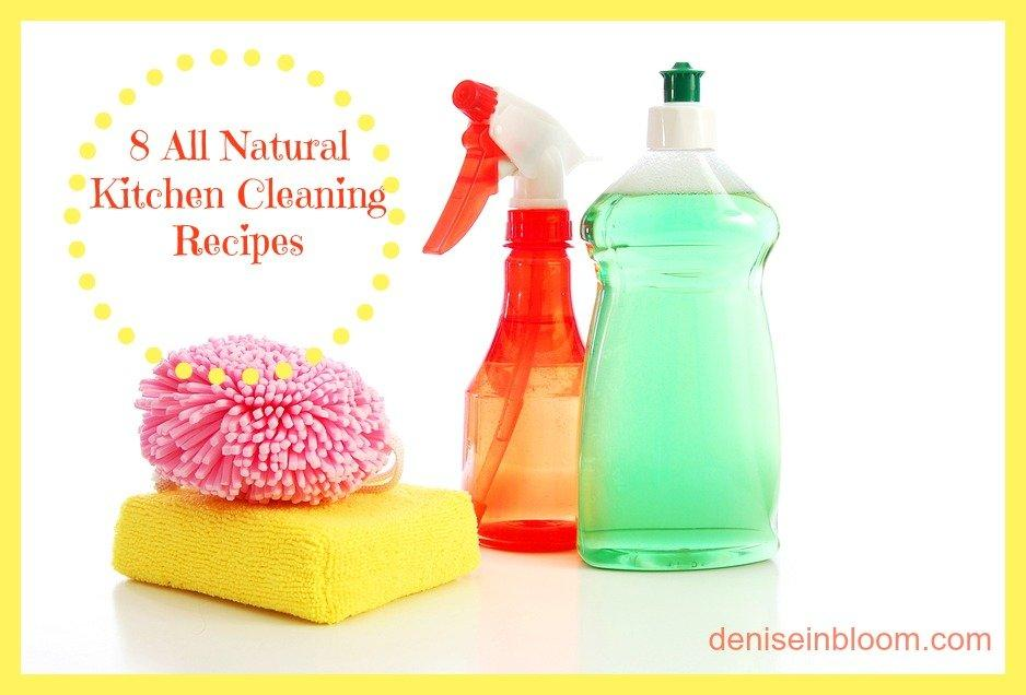 Bon 14 Safe And Effective Homemade Kitchen Cleaning Products