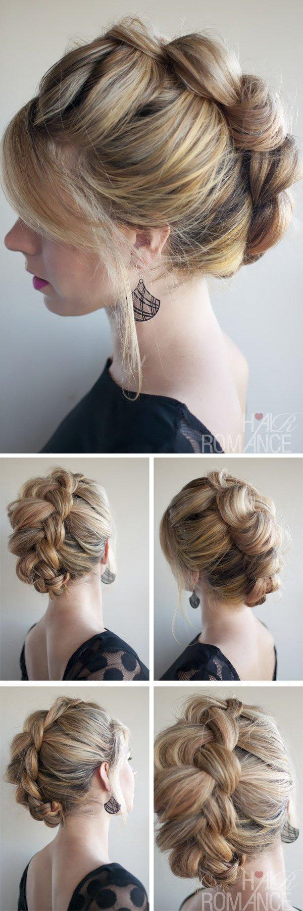 The Elegant Braid Hawk | Easy and Chic Hairstyles