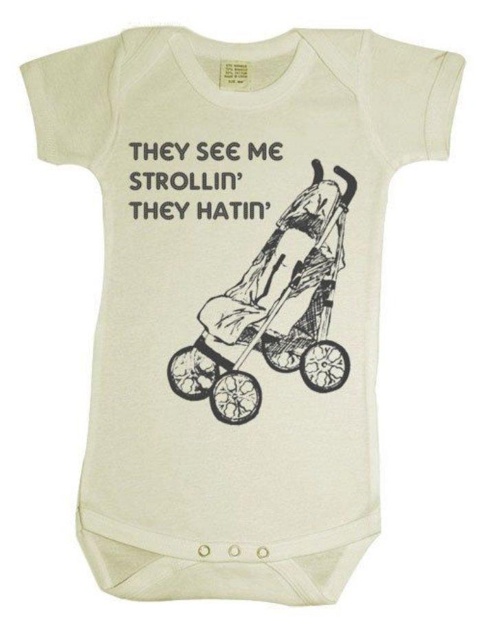 Funny Baby Girl Quotes 45 Funny Baby Onesies ...