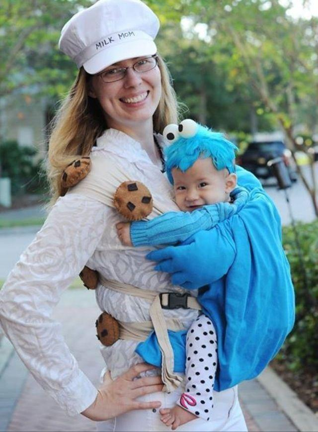 Ideas Turn Your Baby Carrier Into Great Halloween