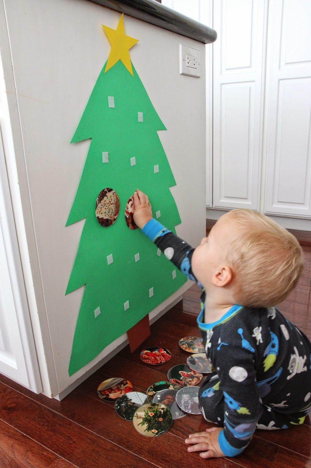 Photo Christmas Tree For Babies