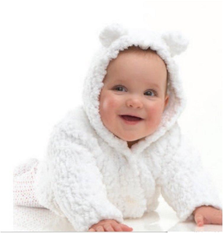 Knitting Pattern For Baby Cardigan With Hood And Ears : 20 Free & Amazing Crochet And Knitting Patterns For Cozy ...