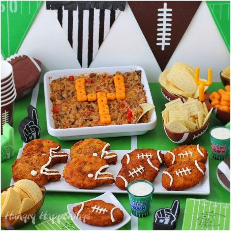 Fried-chicken-footballs-football-helmets-super-bowl