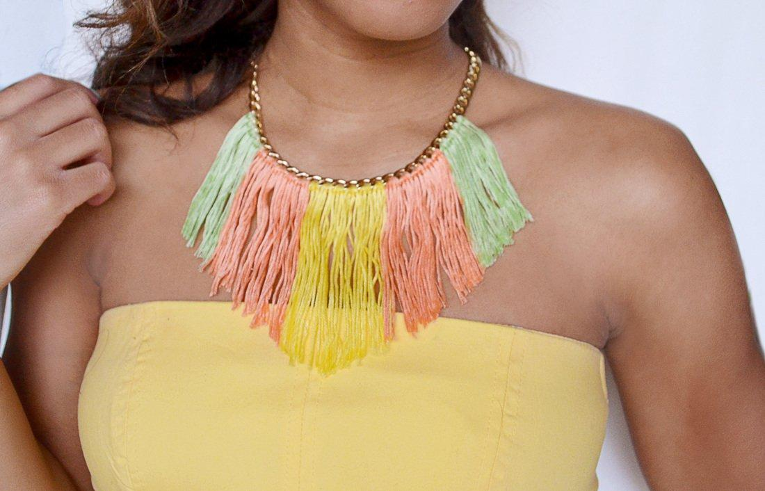15 DIY's To Liven Up Old Jewelry With Embroidery Thread