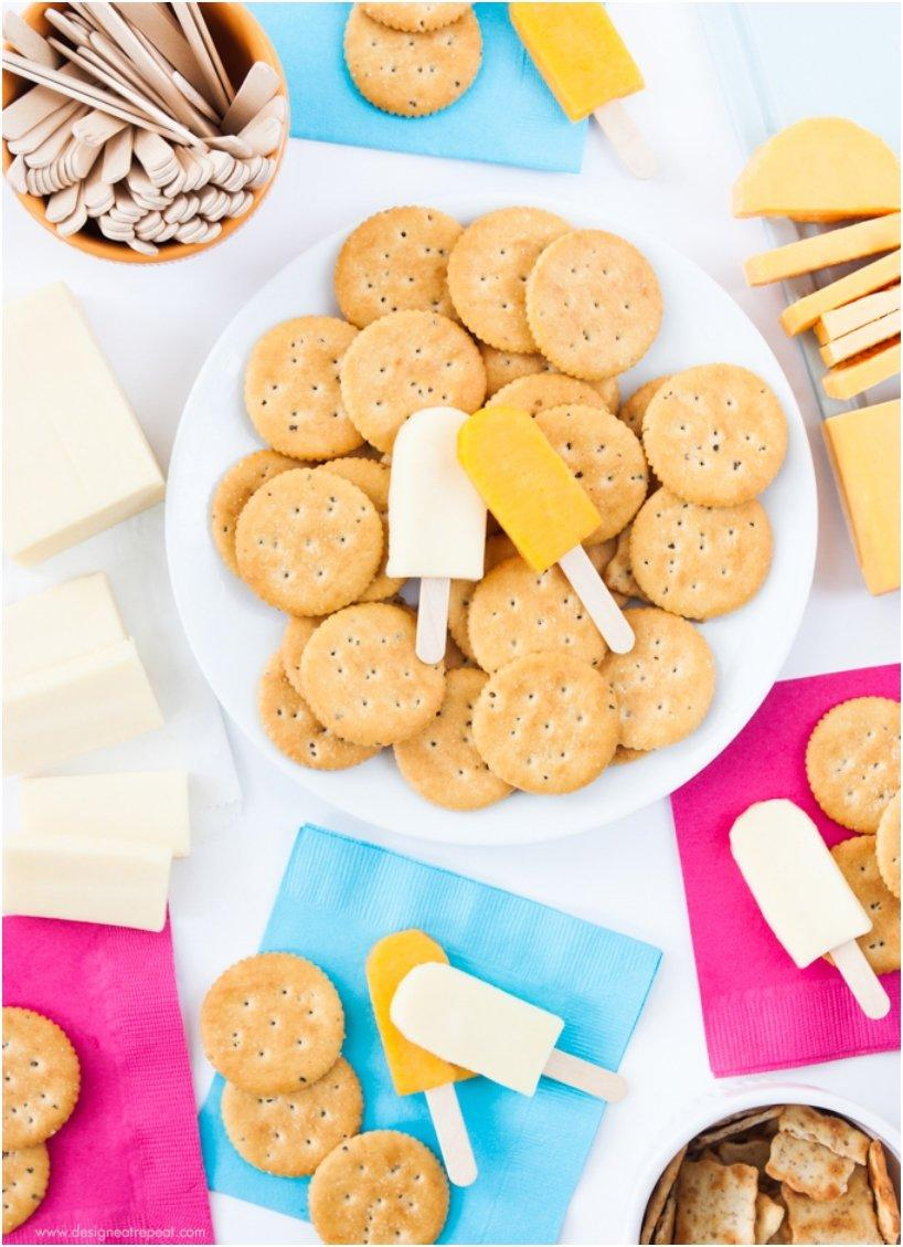 Mini Popsicle Cheese Tray