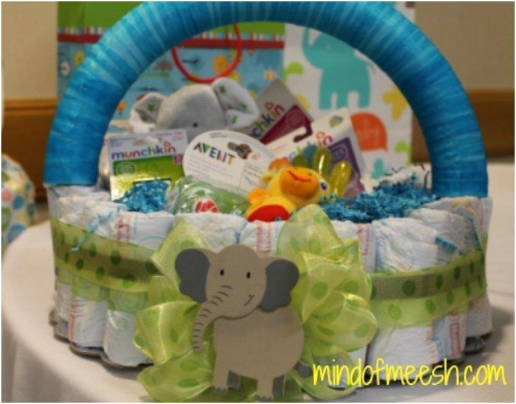 Baby Gift Basket Diapers : Top list creative adorable diaper cake ideas you