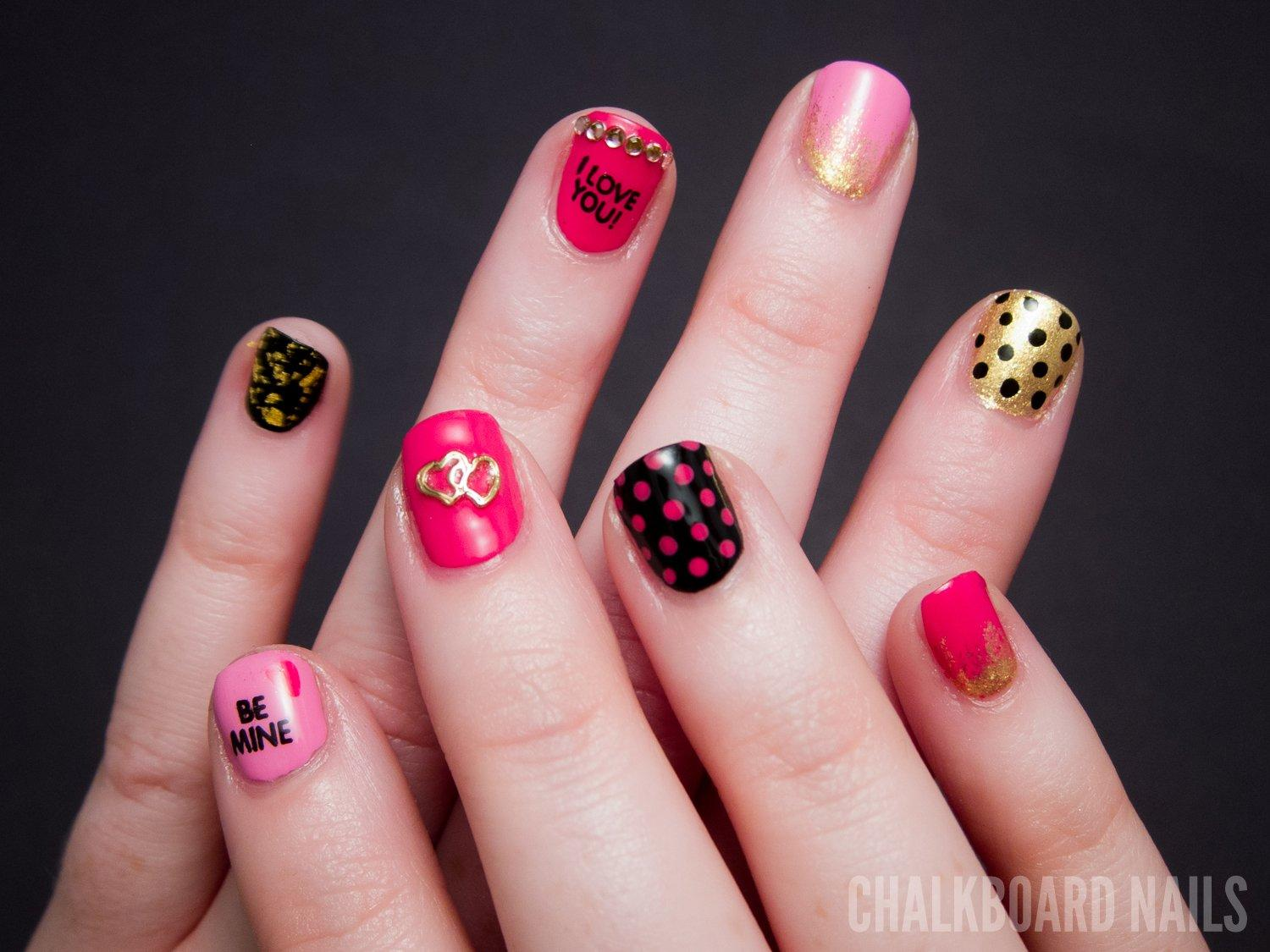 Give Your Nails A Valentine's Day Makeover With These 20 Tutorials 2017