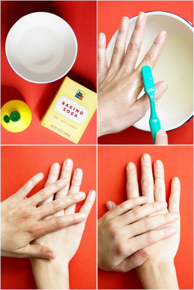 18 Beauty Tips And Tricks For Reusing Your Old Toothrush Mix Water, Lemon  Juice Beauty How To Exfoliate