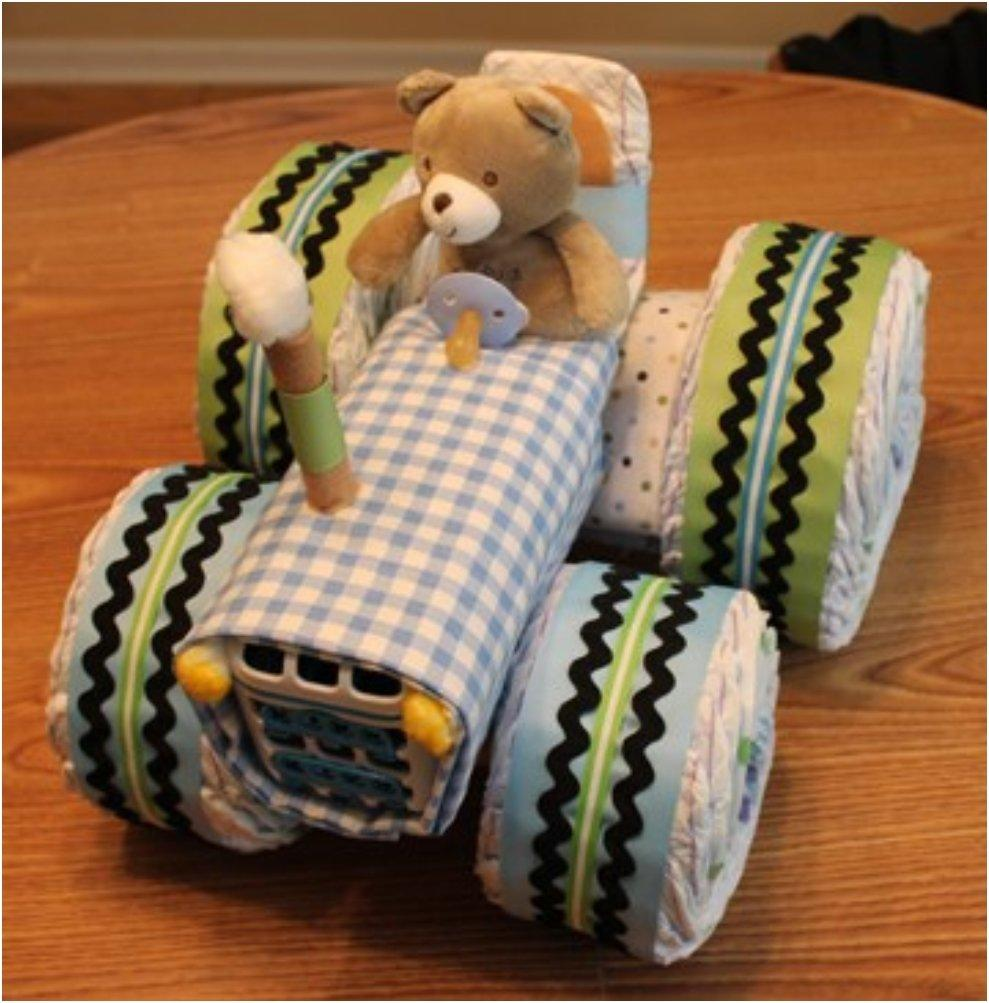 Tractor Diaper Cakes : Top list creative adorable diaper cake ideas you