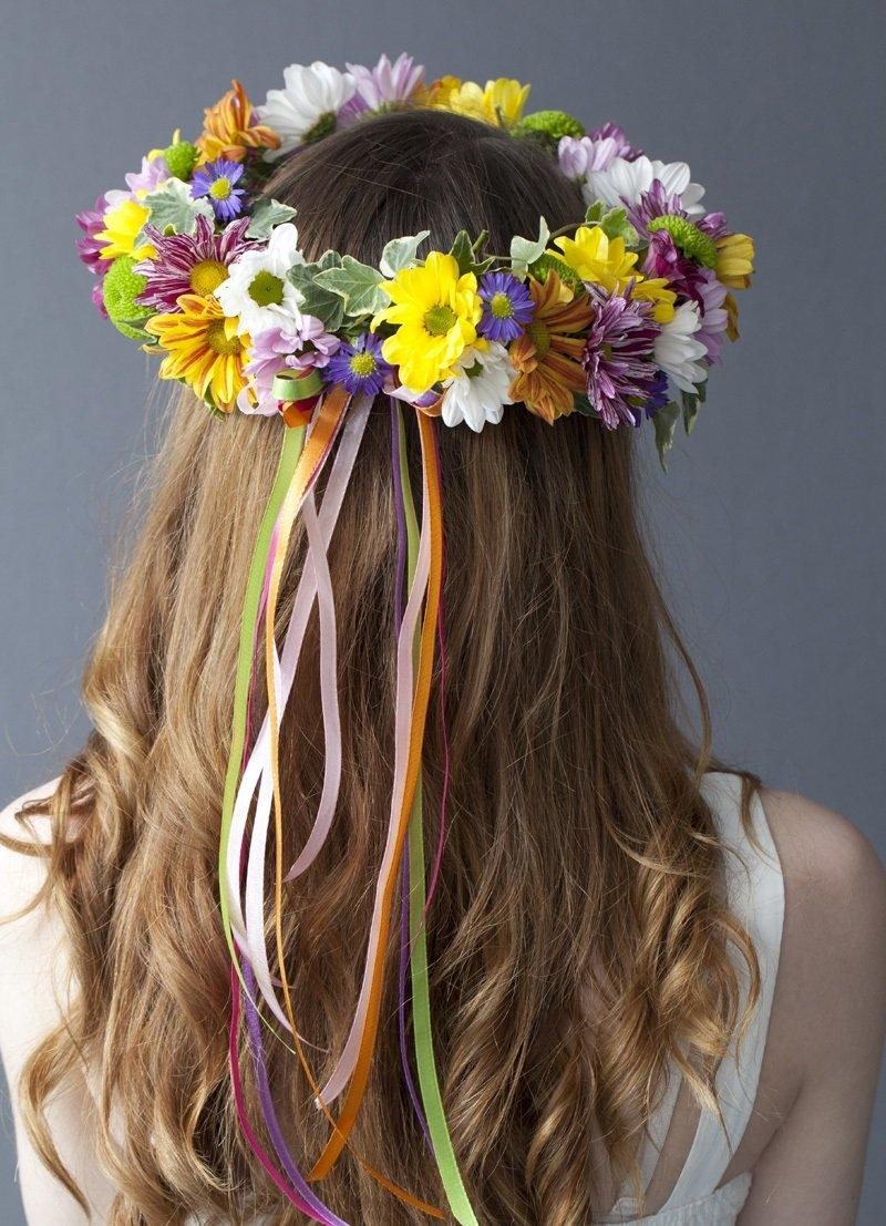Get Ready To Welcome Spring With Fun 18 DIY Floral Crowns