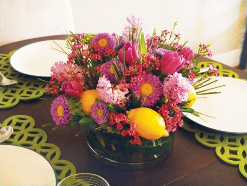Spring Centerpiece Arrangements : Lovely diy centerpieces that will bring color to your