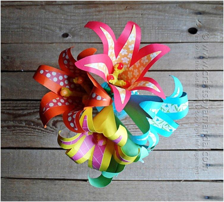 20 Diy Paper Flowers For A Beautiful Never Wilting Spring
