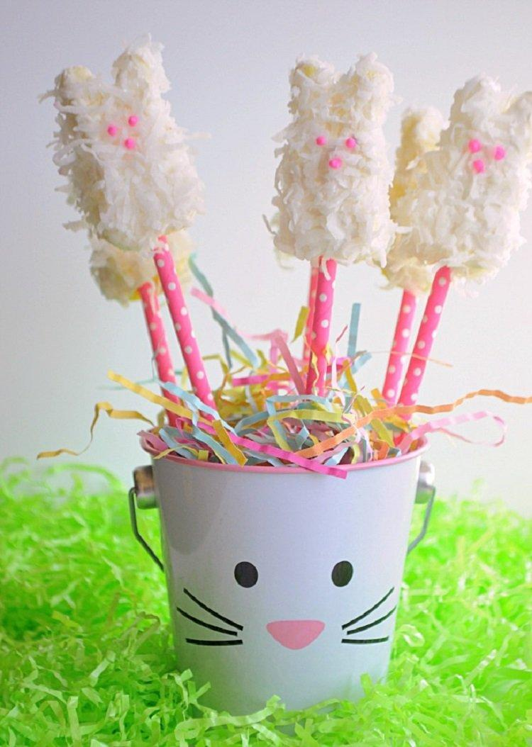COCONUT MARSHMALLOW BUNNIES