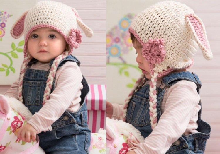 Free Crochet Bunny Hat Pattern For Baby : 21 Free Crochet And Knitting Patterns For Your Babys ...