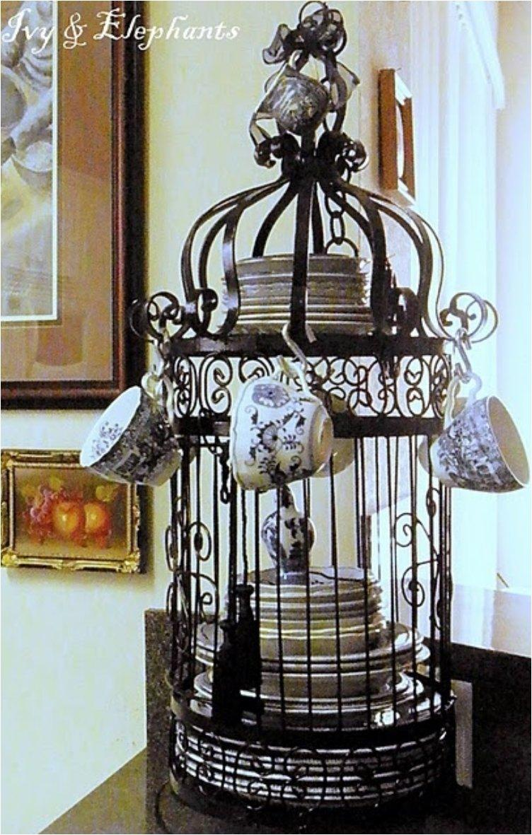 Give Your Home A Chic Decor By Reusing Old Bird Cage