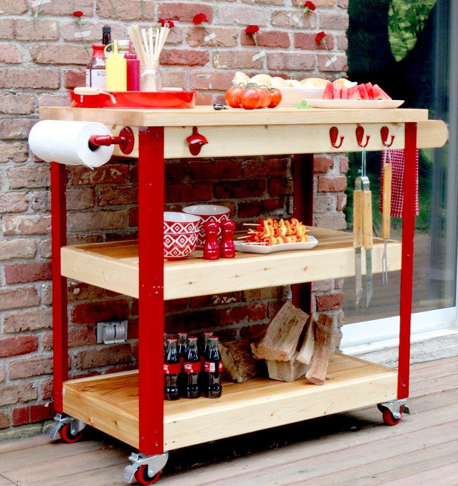 What Every Backyard Party Needs 12 Diy Outdoor Serving