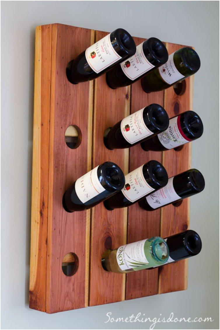 Display Your Fine Wines On These 15 Wonderful DIY Wine Racks