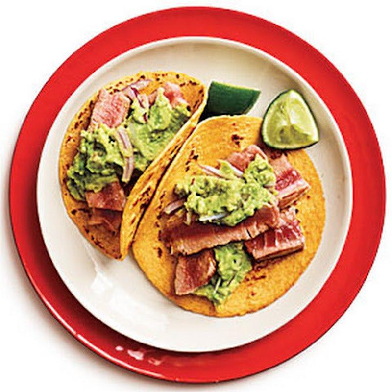 Fish taco recipes awesome and easy meals for rainy days for Tuna fish tacos