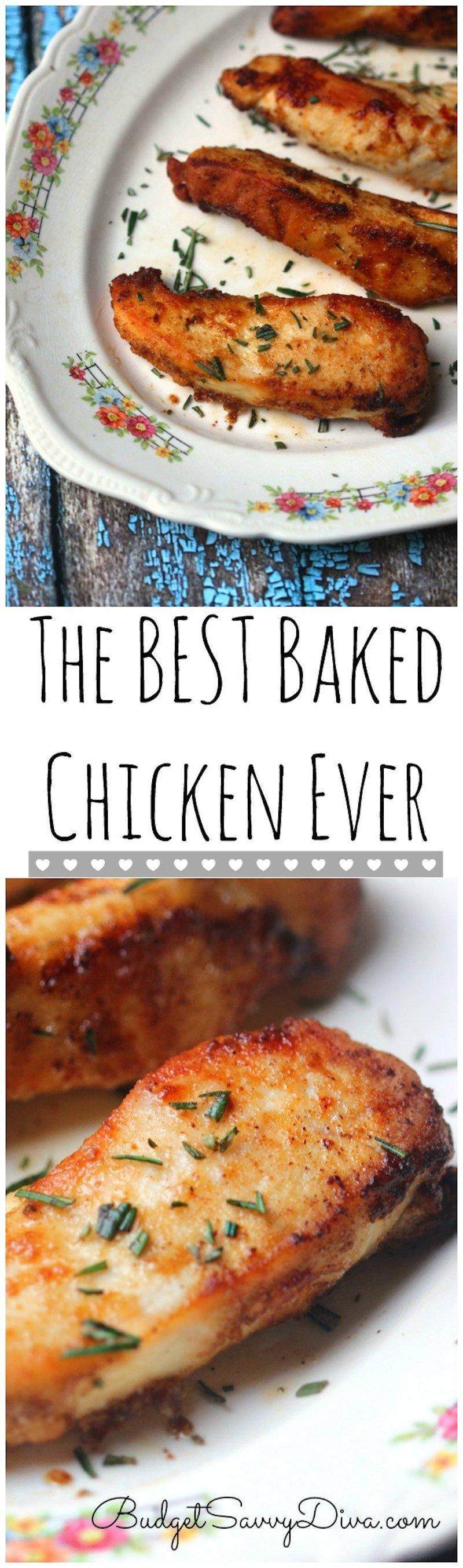 14 Easy Baked Chicken Recipes That Will Surprise All Of You
