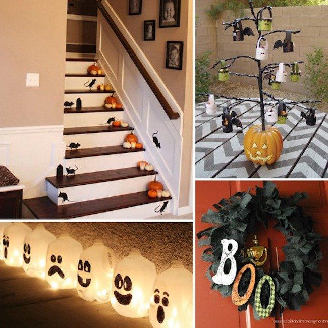 Scary diy halloween decorations that will turn your home for Scary halloween decorations to make at home