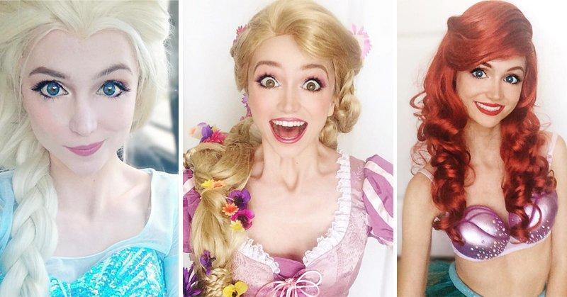 A Woman Spent Over $14,000 and Transformed into Disney Princess