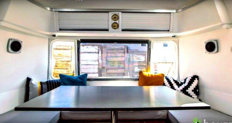 How a Man Turns His '70s Airstream into Shiny and Warm Home