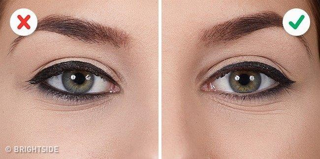 These 10 Mistakes Don't Let You to Do Winged Eyeliner Right