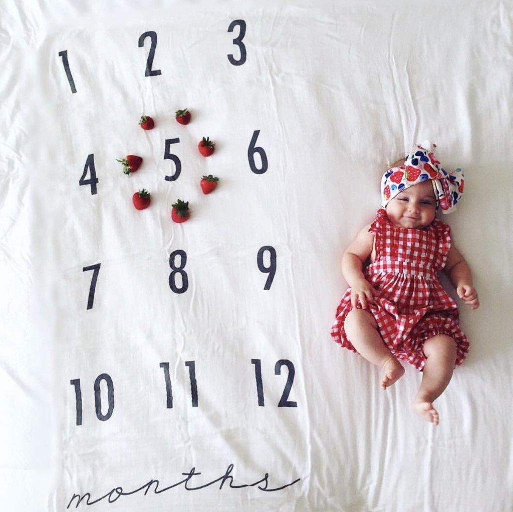 Monthly Photo Shoot Ideas for Tracking Your Baby's Milestones