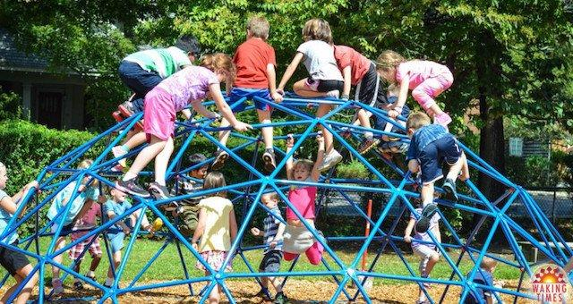Elementary School Triples Recess Time and Solves Attention Deficit Disorder