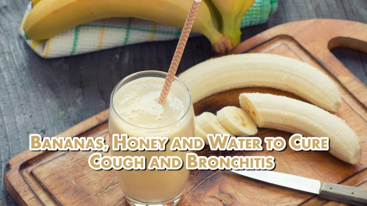 How to Relieve Chronic Cough with This Bananas and Honey Mixture