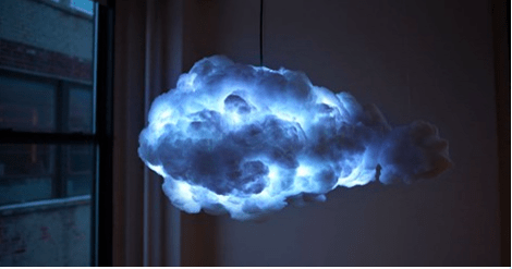 The Cloud Lamp Mimics Thunderstorm and Does Magic for Sleepless Kids