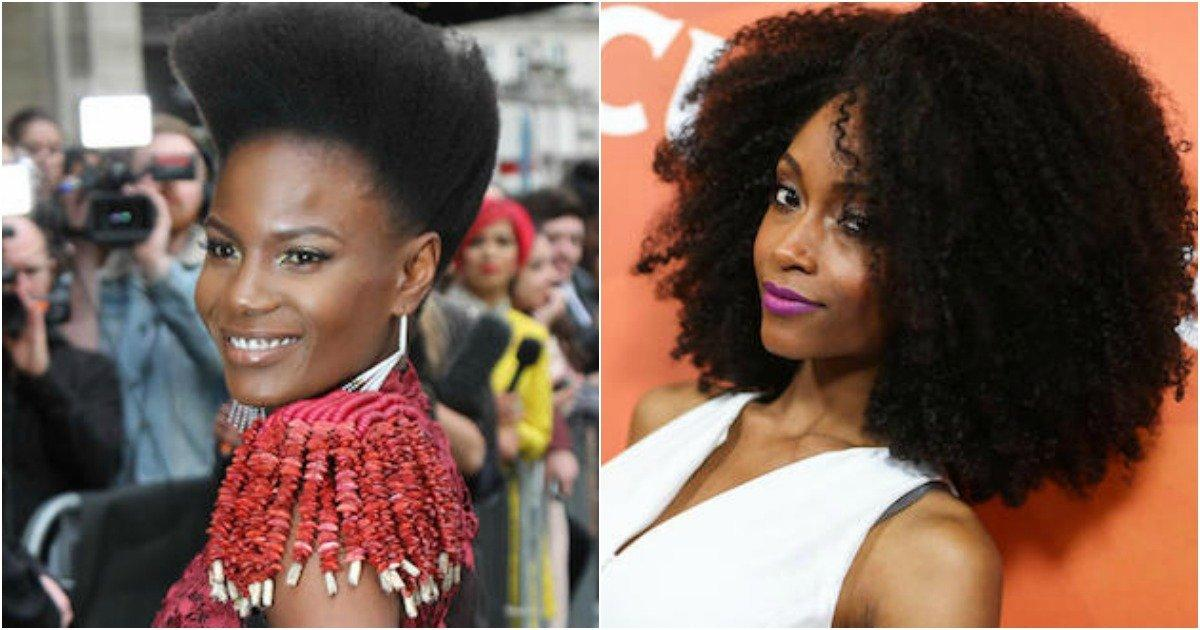 Black People Natural Hair Styles: 30 Beautiful Black Celebrities That Sill Rock Their