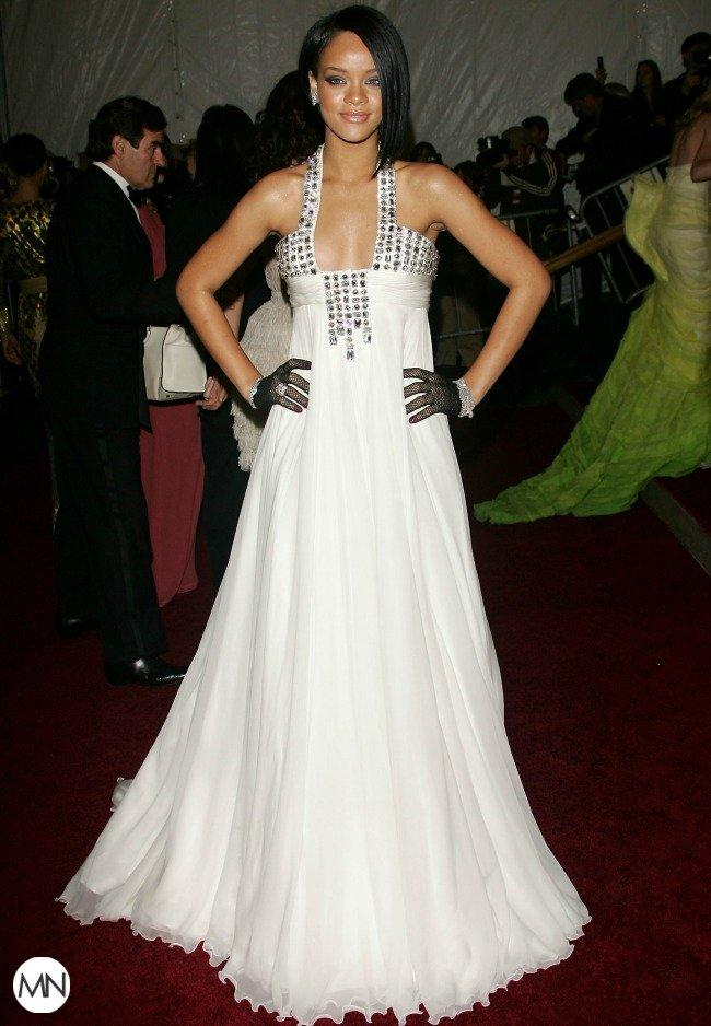 Rihanna's Style Evolution on the Met Gala's Red Carpet