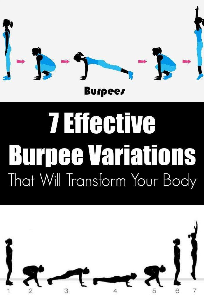 7 Effective Burpee Variations That Will Transform Your Body