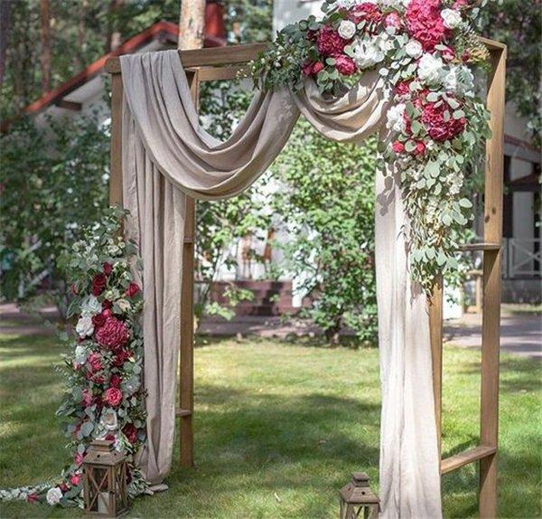 18 Wedding Arch Decoration Ideas With Flowers And Love