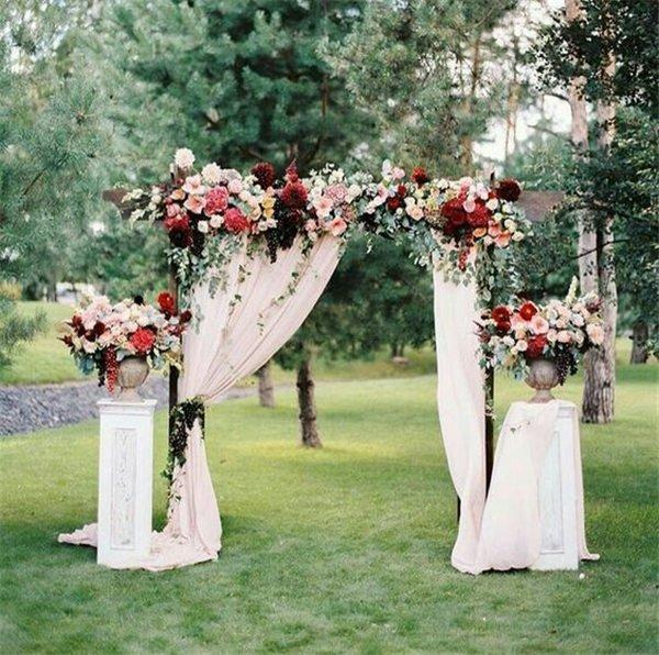 Wedding arch decoration ideas with flowers and love 18 wedding arch decoration ideas with flowers and love junglespirit Image collections