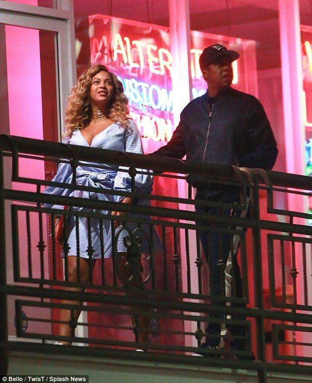 Beyonce And Jay-Z Enjoy Sushi Date In LA (Exclusive Pics!)