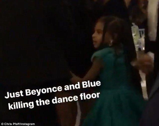 Blue Ivy Shows Off Her Moves As She Dances With Mom Beyonce At Friend's Wedding