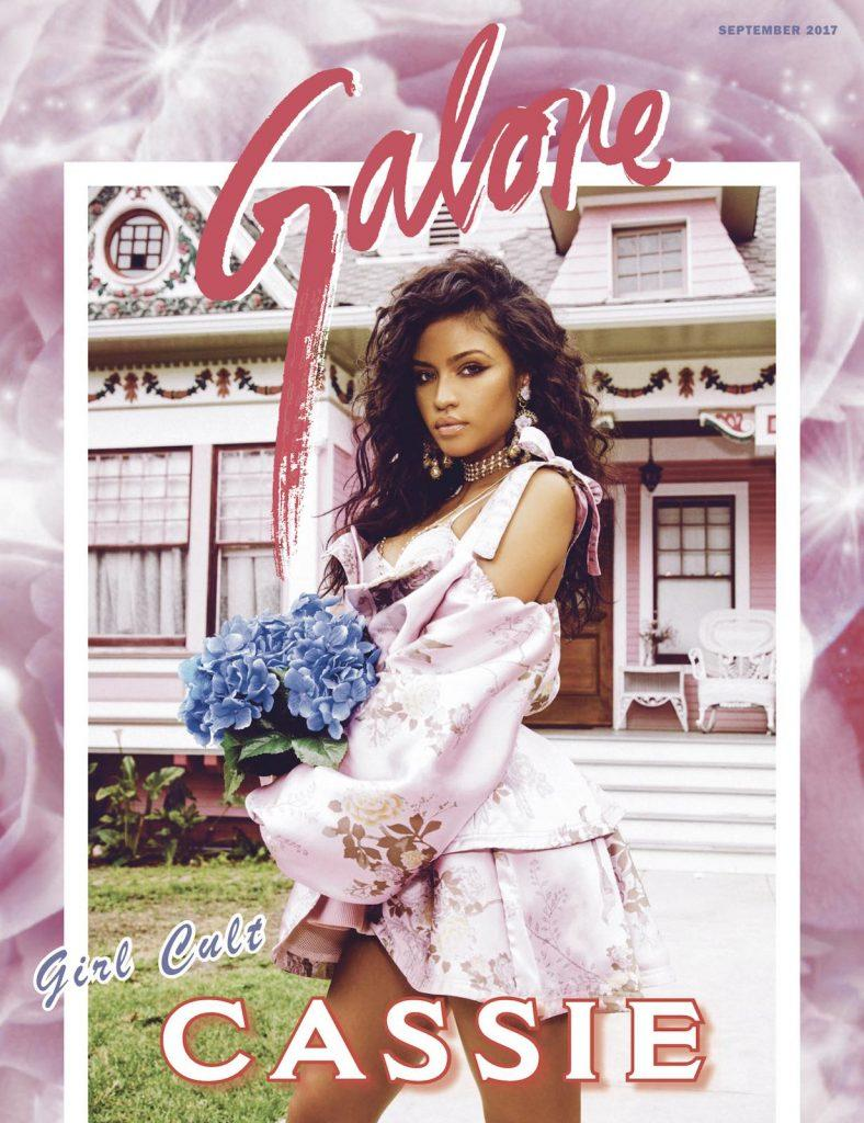 Cassie Stuns On The Cover Of Galore Magazine