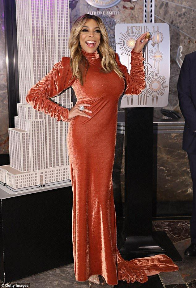 Wendy Williams Is Emotional As She Launches New Season On The Top Of The Empire State Building