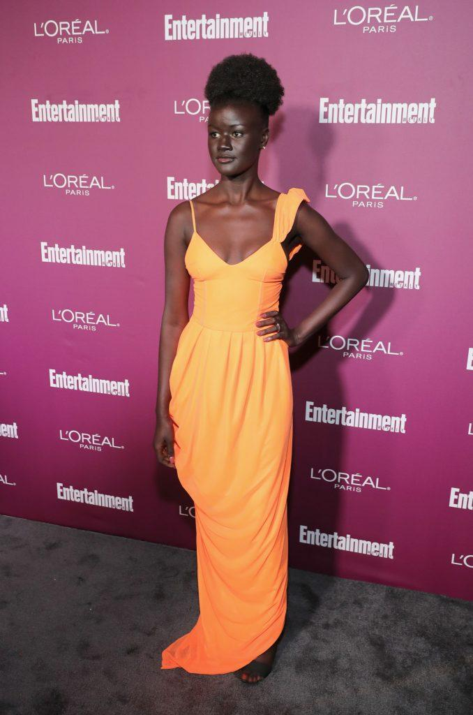 'Melanin Goddess' Khoudia Diop Is A Vision On The Emmy Red Carpet