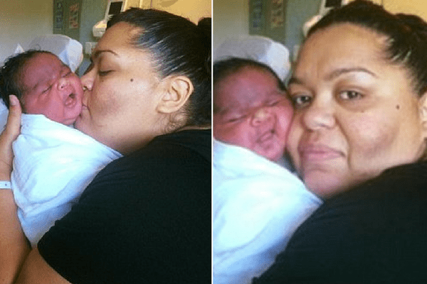 Mom Gives Birth To 13.5lb Baby — Double The Size Of An Average Baby