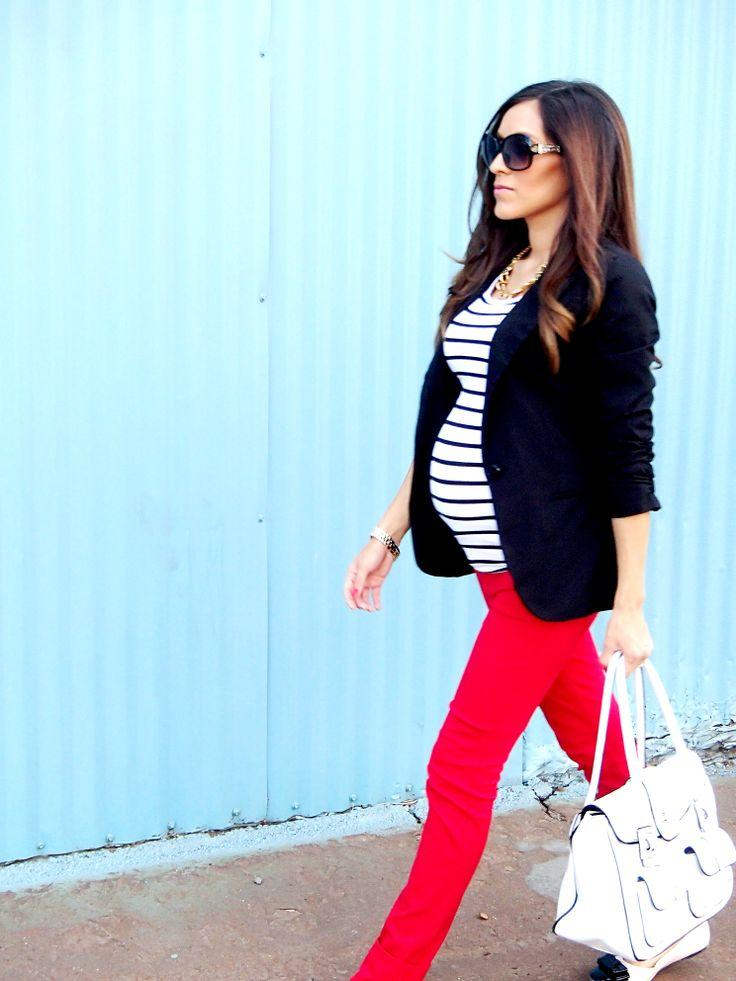 15 Stylish Fall Outfits For Fashionable Pregnant Ladies