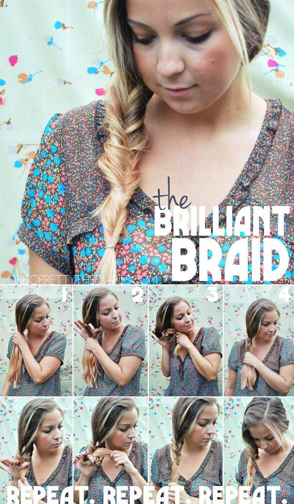 9 Easy And Chic Hairstyle Tutorials With Braids