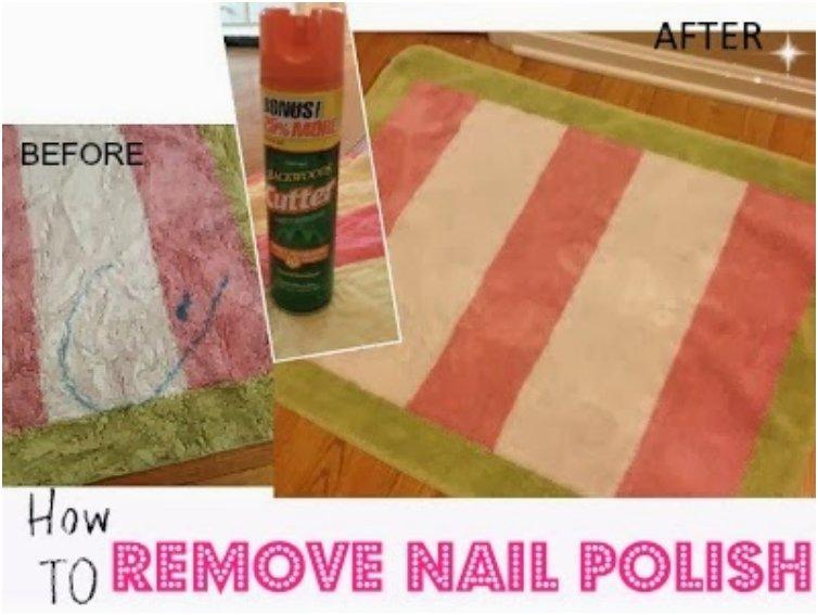 How to Remove Nail Polish from Clothes (and Carpet)