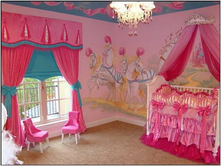 princess theme baby nursery