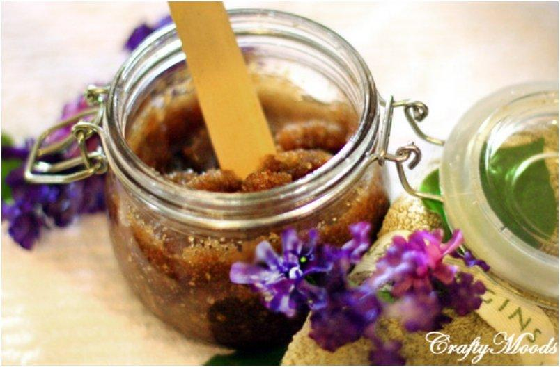 sugar scrub for dry skin