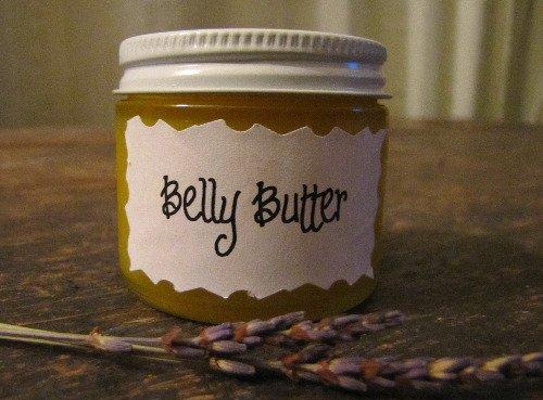 Homemade-Belly-Butter
