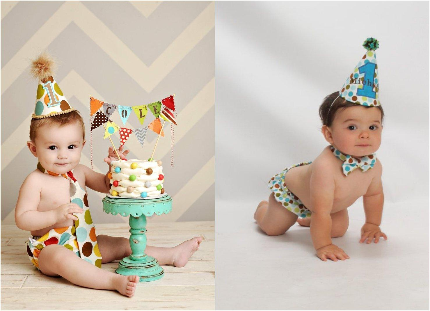 20 Cutest Photoshoots For Your Baby Boy\'s First Birthday