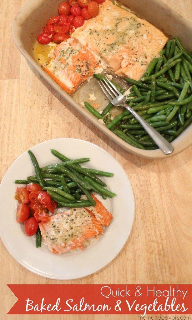 Quick-Healthy-One-Pan-Baked-Salmon-Vegetables-614x1024